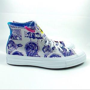 New Converse Chuck Taylor 70 High Batman Shoes 9.5